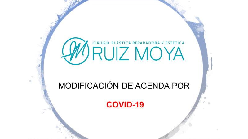 Modificación de Agenda de Consultas y Quirófano por Coronavirus